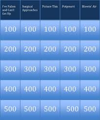 50 Jeopardy Powerpoint Template 2010, Powerpoint Jeopardy Free ...