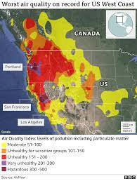 California and Oregon 2020 wildfires in ...