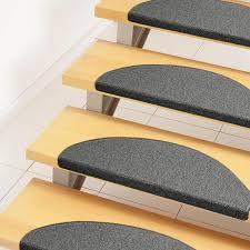 Trend schlinge stufenmatte grau trend (halbrund), größe:24x65 cm = 1 stck. Stufenmatten In Grau Preisvergleich Moebel 24