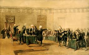 file signing of declaration of independence by armand dumaresq file signing of declaration of independence by armand dumaresq c1873 restored