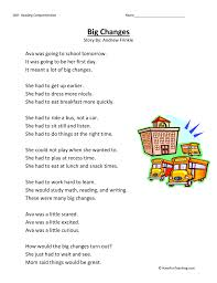 Second Grade Reading Comprehension Worksheets | Page 2 of 14 ...
