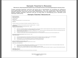 Teaching Resume Inspiration Resume Format For Experienced Teachers YouTube