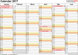 yearly calendar 2017 template excel calendar 2017 uk 16 printable templates xlsx free
