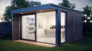 home office in garden. Cool Inspiration Outdoor Garden Home Office Design Orchidlagoon Pod In C