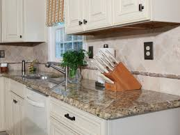 Kitchen Counter Storage Stylish White Kitchen Design With Granite Kitchen Countertop And