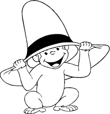 7 best curious george coloring pages images on