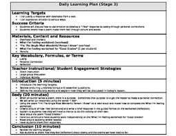 Poetry Authors Purpose Lesson Plan With Learning Targets Tpt