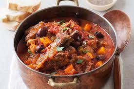 Lamb Stew Recipe Tomato And Olive Lamb Casserole