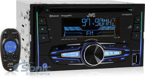 jvc kd rbt kdrbt mp cd usb car stereo w pandora control jvc double din bluetooth in dash car stereo wi