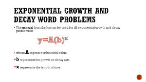 exponential decay word problems worksheet the best and most slide 5 exponential decay word problems worksheet solving exponential equations worksheet
