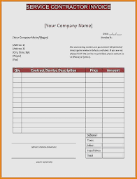 Construction Invoice Template Gorgeous 48 Contractor Invoice Template Elegant Independent Contractor