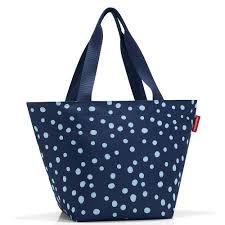 <b>Сумка Reisenthel Shopper</b> M spots navy — купить в интернет ...