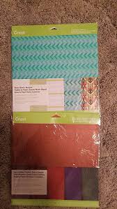 cricut leather and washi sheets new