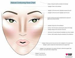 natural contouring face chart i so fascinated by this idea i can change the way my face is shaped with makeup