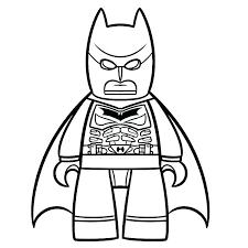 Lego Batman Kleurplaat Batman Shshiinfo