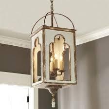 boho light fixtures aged box lantern boho chic light fixtures