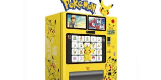 Pokemon Vending Machine Unique Awesome Pokemon Vending Machines Are Appearing In Japan