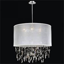 ceiling lights round shade pendant mini chandelier crystal light shade double drum pendant light fixture