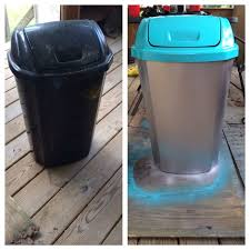 Exterior Garbage Cans Set Painting Interesting Decoration