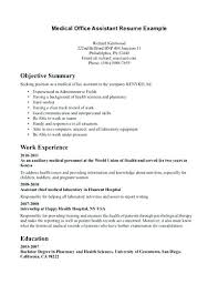 Pre Med Resume Samples Student Best Collection Resumes