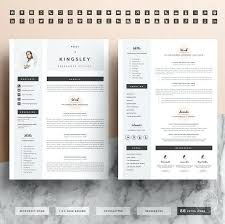 2 Page Cv Template Caseyroberts Co
