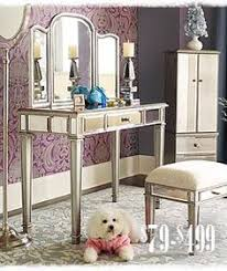 hayworth mirrored furniture. my hayworth vanity set i purchased from pier 1 imports mirrored furniture r