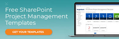 Project Management Templates 4 Tips For Project Management Reporting On Sharepoint