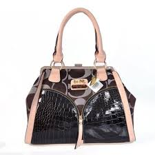 Coach Madison Carrie Embossed Medium Coffee Satchels ADF Give You The Best  feeling!