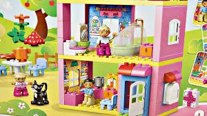 Lego Wallpaper For Bedroom Walls Family House Legoville Lego Duplo 10505 Md Toys Youtube