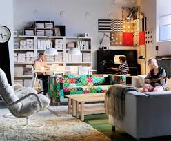 office in living room. Home Office In Living Room Ideas Calm U Cozy With Touches Of Beach