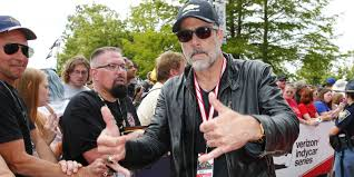 The Waking Dead s Jeffrey Dean Morgan was this year s Indy 500.