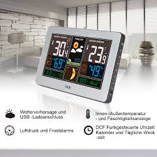fanju fj3378s color weather station with usb charger atomi