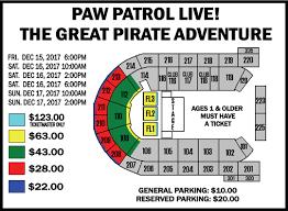 Paw Patrol Live Mohegan Sun Arena