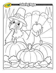 Free Thanksgiving Coloring Pages And Printable