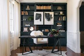 these home offices are elegantly dressed in timeless black and white decor and designs its fun to see the range of office interior designs from black and white home office
