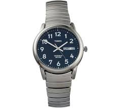 buy timex men s classic indiglo blue dial expander watch at argos timex men s classic indiglo blue dial expander watch907 2998