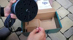 Unpacking / unboxing random orbital sander <b>Metabo SXE 3125</b> ...