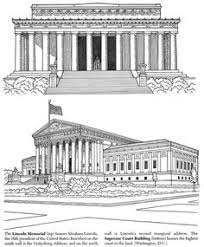 lincoln memorial building clipart. pin white house clipart supreme court building 7 lincoln memorial n