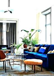 dark blue couch. Clean Decorating With A Blue Sofa T1285975 Dark Couch