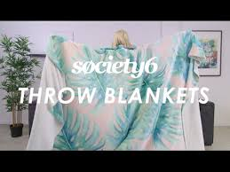 Society6 Throw Blanket Review
