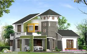 Small Picture Unique 2220 Sqfeet Villa Elevation Kerala Home Design And Floor