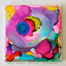 painting ceramic tile craft projects designs