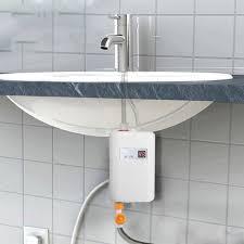 <b>220V</b> 3.8Kw Tankless <b>Electric</b> Water Heater for Bath, <b>Kitchen</b>, Utility ...