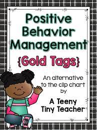 Davis Clip Chart Positive Behavior Management Gold Tags A Teeny Tiny Teacher