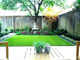 Landscape Design For Small Backyards Interesting Design