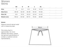American Apparel Measurement Chart American Apparel White Cotton Blend Stretch Skirt Size 4 S 27