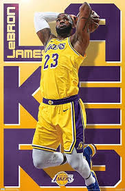 Los angeles lakers statistics and history. Lebron James Poster Los Angeles Lakers 86 4 X Kaufland De