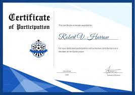 Psd Certificate Template Template Award Certificate Template Psd Football Photoshop Award 5