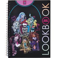 """Книга-<b>раскраска</b> для девочек <b>Daisy Design</b> """"Monster High. Создай ..."""
