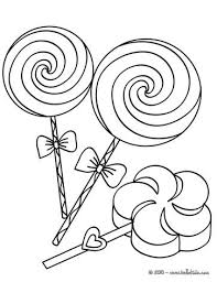 Big Coloring Sheets Big Lollipops Coloring Page Color This
